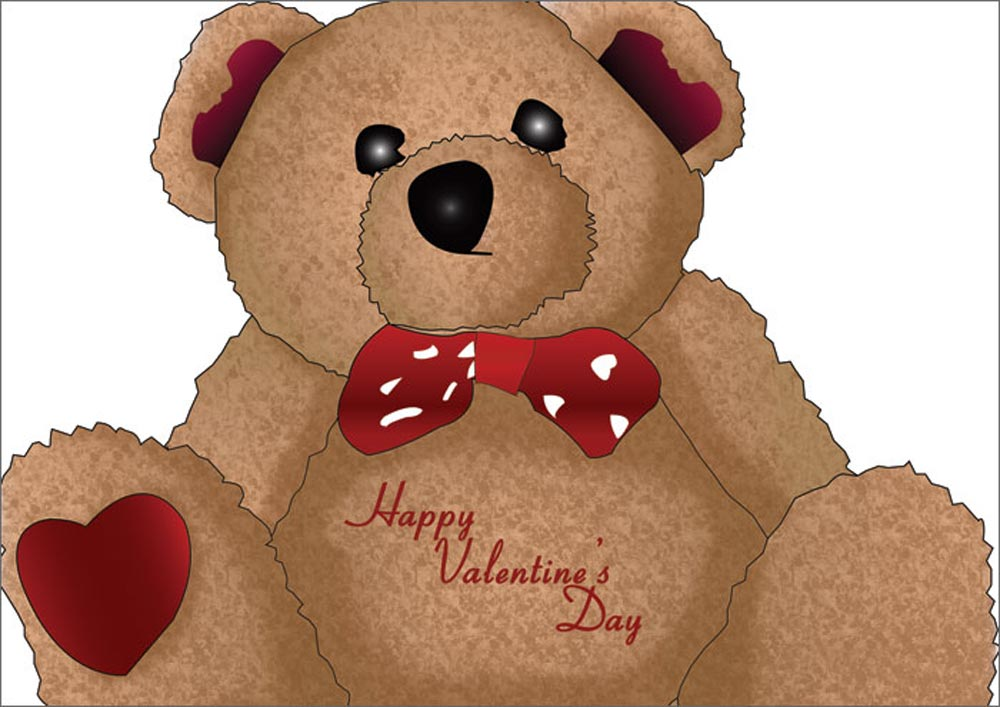 valentines day teddy bears wallpapers., Ideas