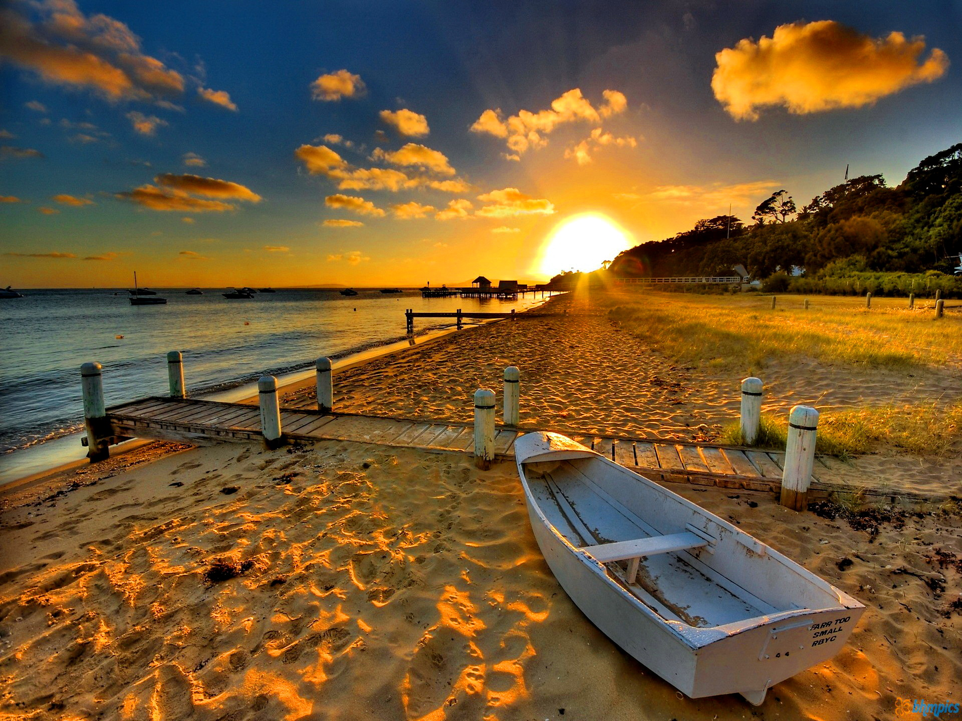 Beautiful Beach Sunset HD Wallpapers