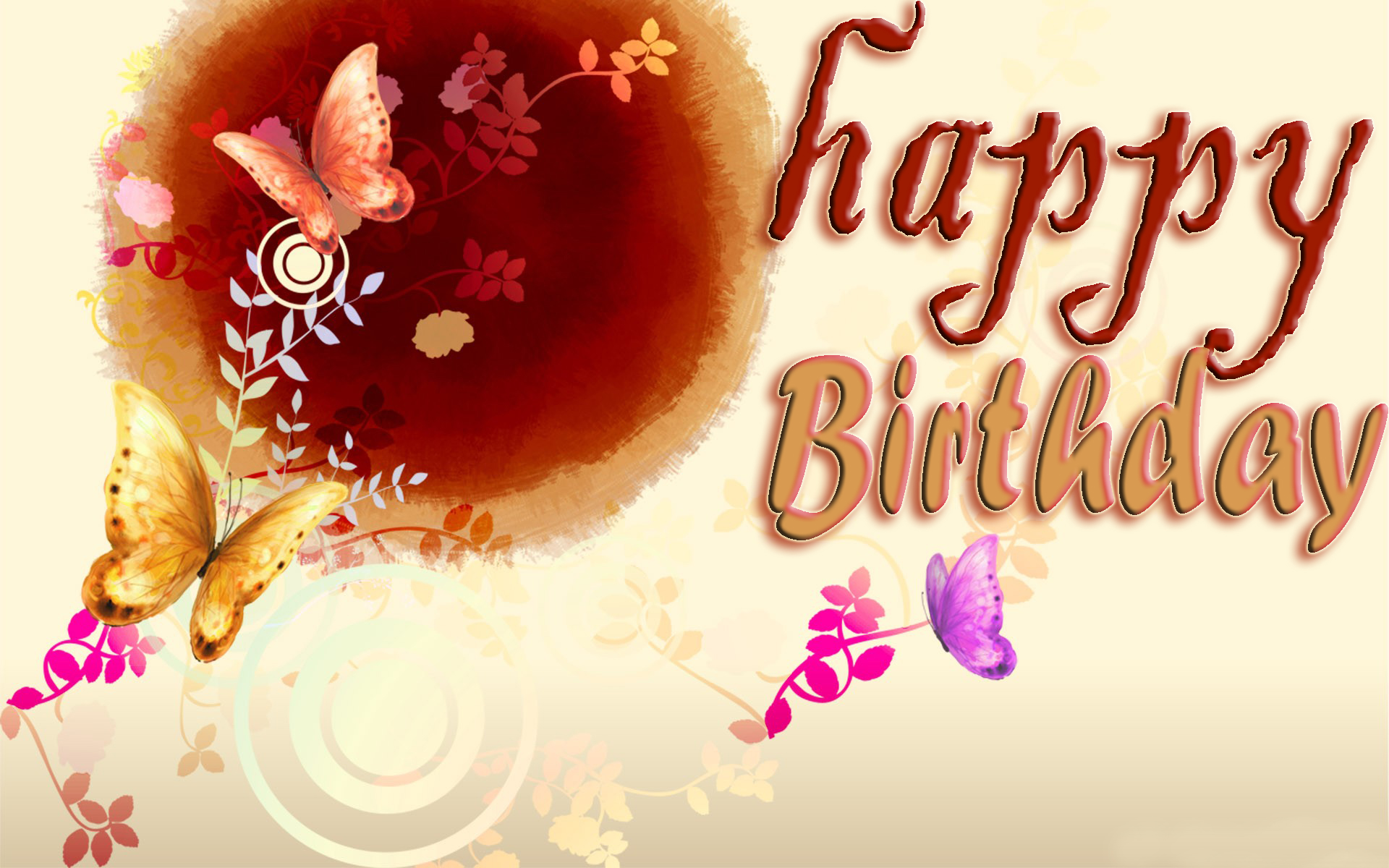 Beautiful Happy Birth Day Wallpapers