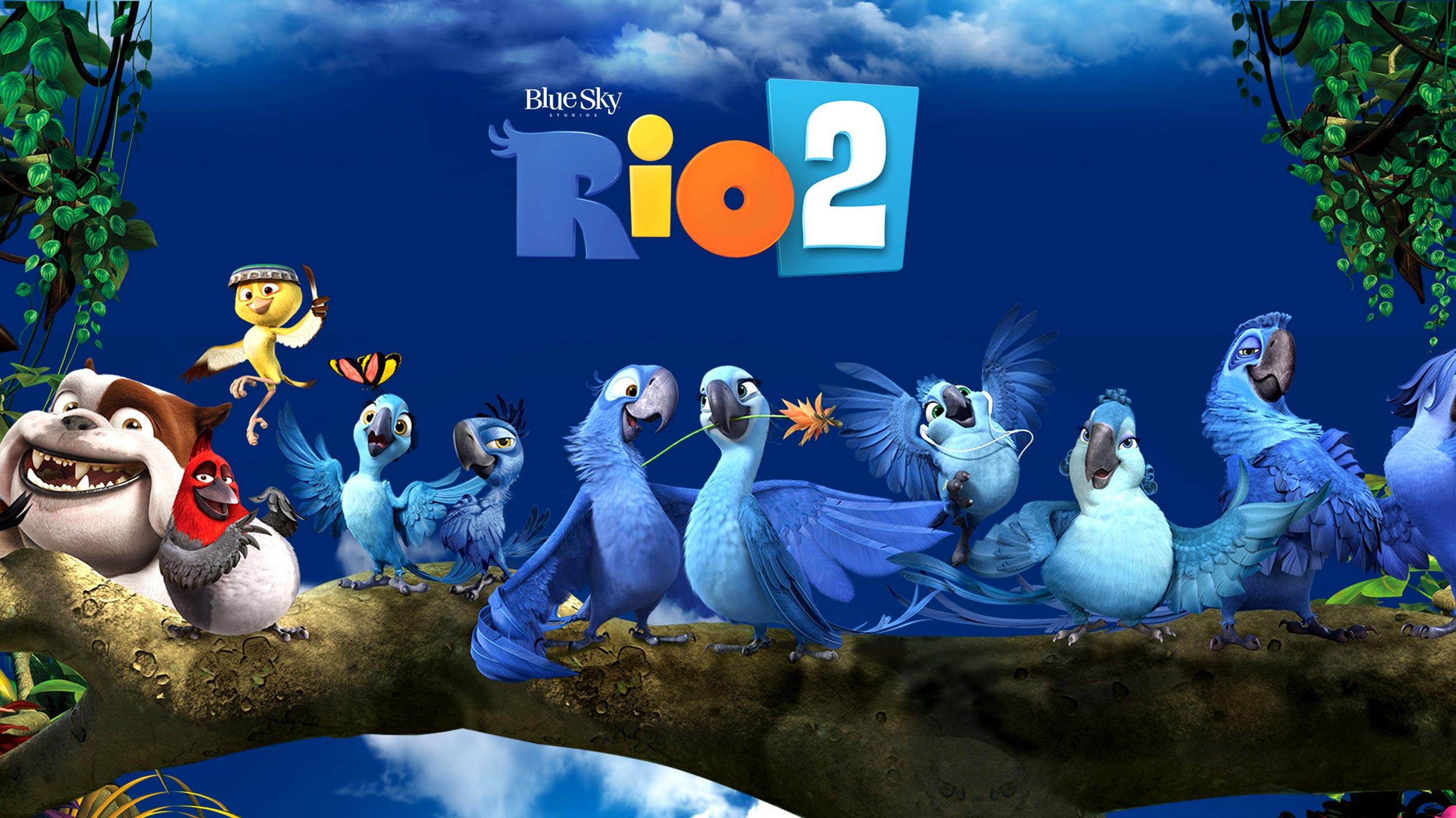 Rio 2 Movie Wallpaper Rio 2 Cartoon Movie Wa...