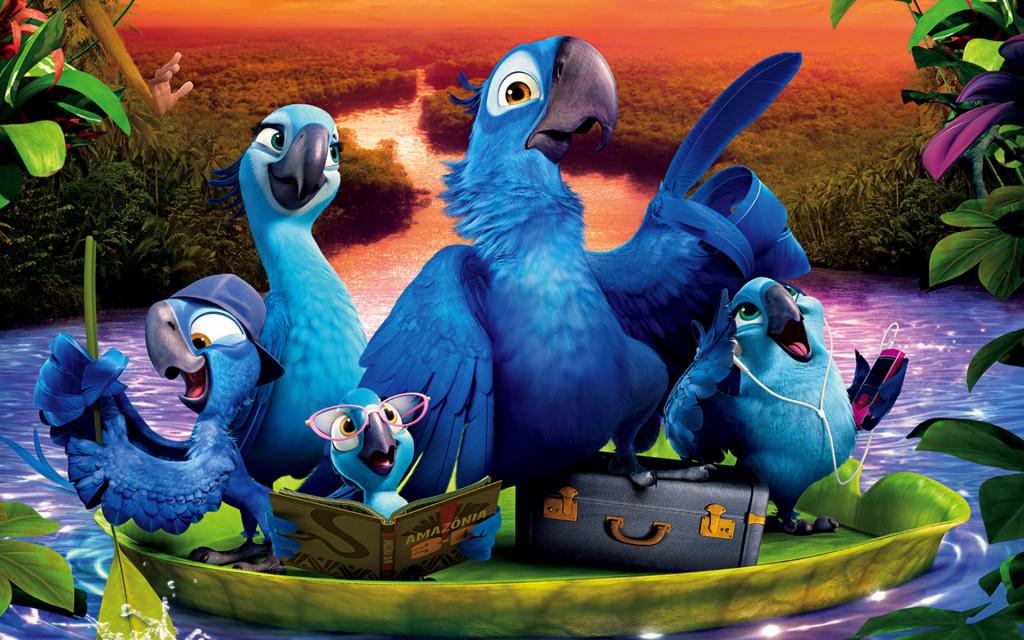 Rio 2 Cartoon Movie Wallpapers-5174