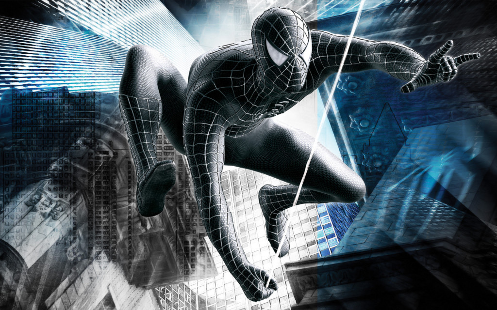 Spider man wall decals high definition pics
